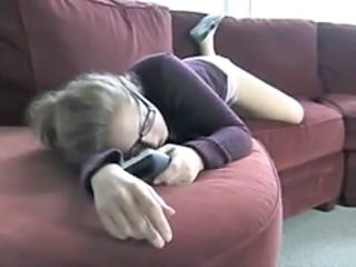 Babysitter Glasses Sleeping Teen Tied