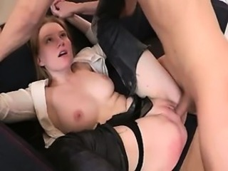 Forced Hardcore Secretary Shaved Teen