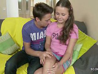 Brunette Cute Sister Teen Sister Brother