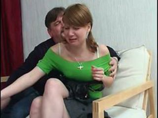 Daddy Daughter Amateur Old and Young Russian Teen