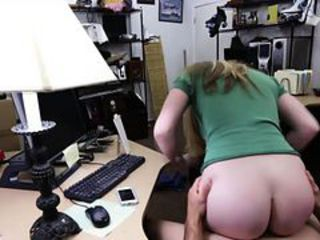 Amateur Ass Clothed Office Riding