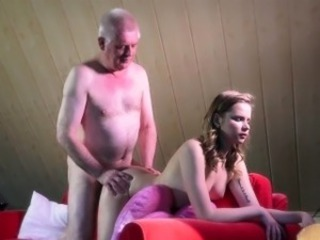 Daddy Daughter Family Doggystyle Old and Young Teen Rimming