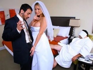 Amazing Babe Big Tits Bride Cuckold Wedding