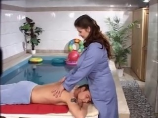 Amazing Big Tits Massage  Pool
