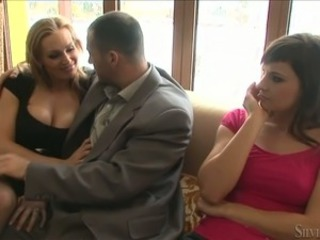 Family  Mom Old and Young Teen Threesome Married