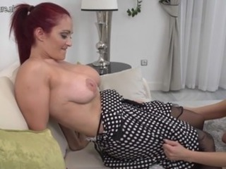 Big Tits Daughter Family Lesbian  Mom Natural Redhead Daughter Taboo