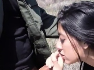 Amateur Blowjob Cute Latina Outdoor Teen
