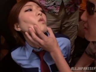 Asian Gangbang Japanese Office Slave Teen Uniform