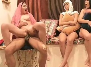 Amazing Arab Babe Groupsex Riding Wife Arab