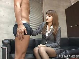 Asian Casting Japanese Teen Interview