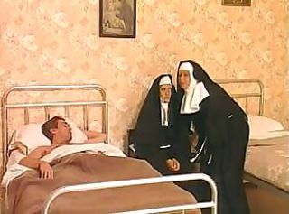 Nun Threesome Uniform
