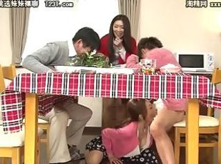 Asian Blowjob Daddy Daughter Family Japanese Mom Old and Young Sister Teen Son