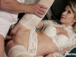 Amazing Babe Bride Pornstar Stockings Wedding