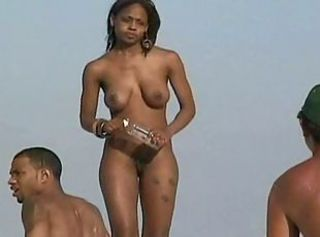 Beach Ebony Nudist Outdoor Teen