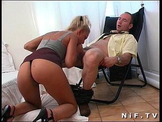 Ass Blowjob European French French