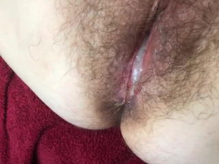 Creampie Hairy Pussy Wife
