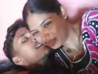 Girlfriend Homemade Indian Kissing Teen