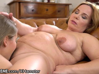 Lesbian Licking Mature Mom Old and Young
