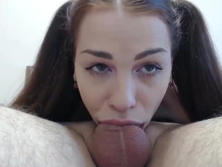 Amazing Blowjob Deepthroat Swallow Teen