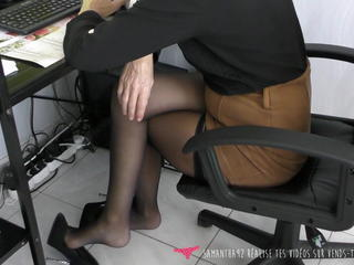 Fetish  Office Pantyhose