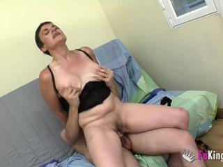 Casting Mature Riding Son