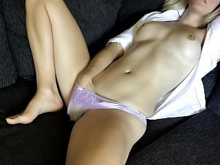 Amateur Masturbating Orgasm Panty Solo Teen