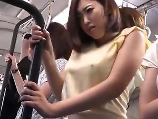 Amazing Asian Babe Bus Japanese