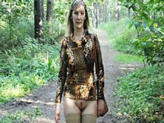 Amateur Nudist Outdoor Wife Public