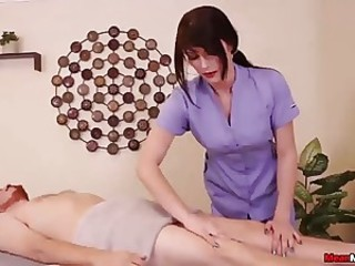 Handjob Massage Nurse Uniform