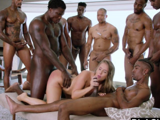 Amazing  Double Penetration Gangbang Hardcore Interracial