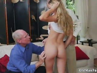Amazing Daddy Daughter Old and Young Skinny Teen Threesome Daddy
