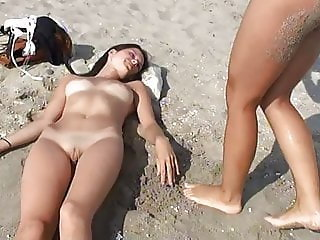 Beach Cute Nudist Teen