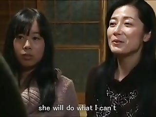 Asian Daughter Japanese Lesbian Mom Old and Young Daughter