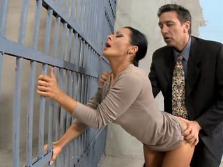 Amazing Clothed Doggystyle  Prison