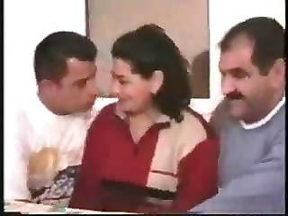 Cuckold Groupsex Threesome Turkish Wife