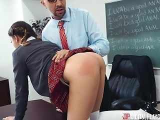 Daddy Daughter Old and Young School Teacher Teen