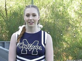 Cheerleader Outdoor Sport Student Teen Uniform Interview Cheerleader