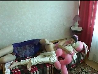 Family Daddy Russian Daughter Amateur Old and Young Teen Family