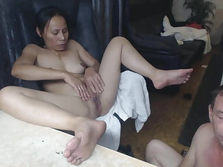Asian Homemade Masturbating Older Webcam